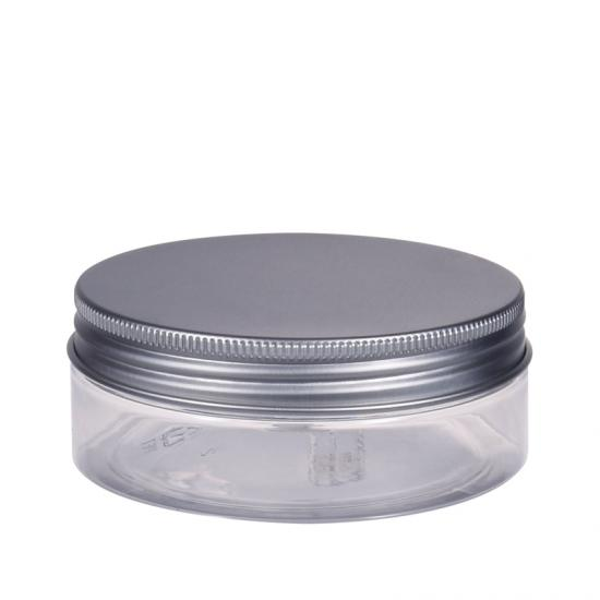 Clear PET Straight Sided Jar